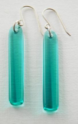earringsaquarecycledglass3 copy